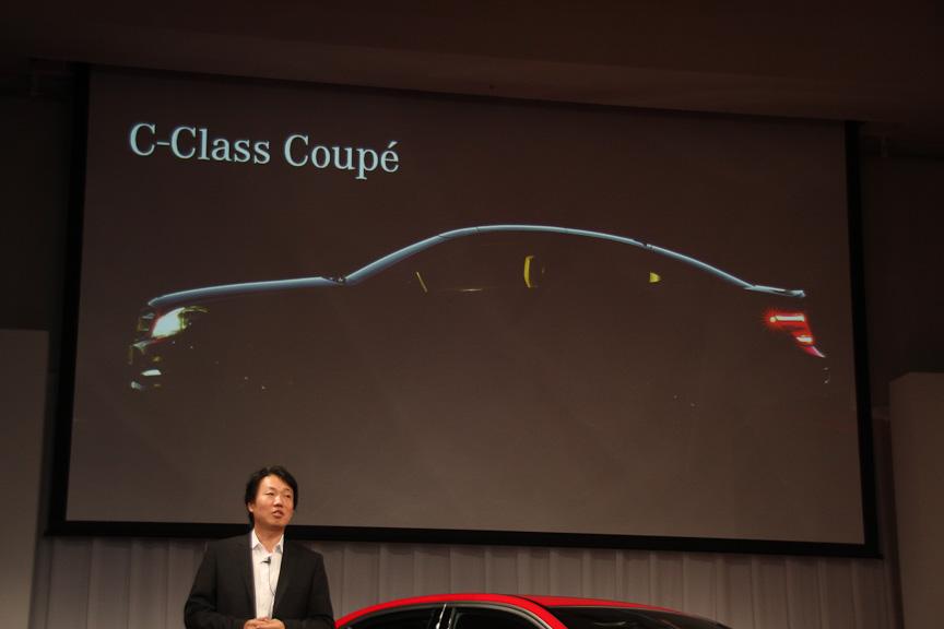 C クラス クーペは年末に発表される