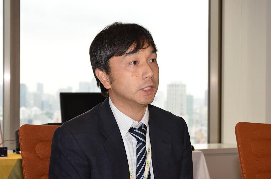 NXPセミコンダクターズジャパンの林氏