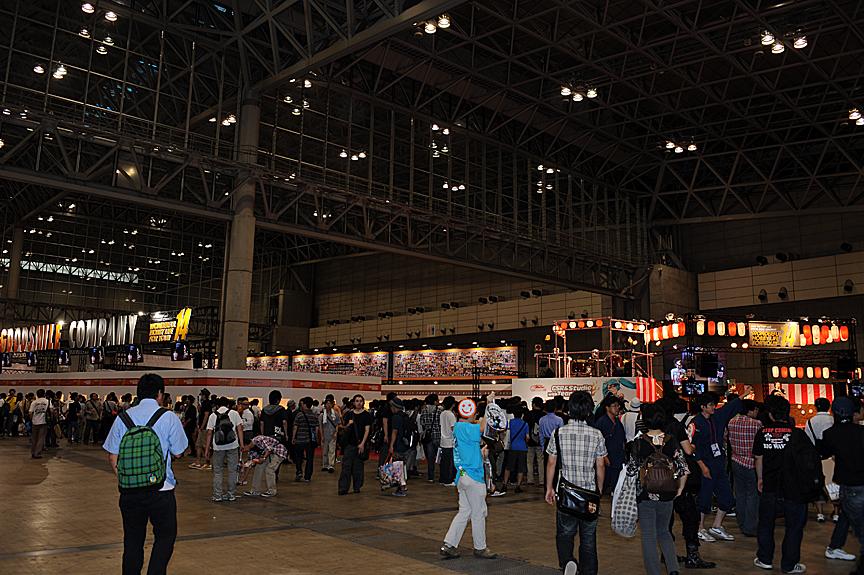 ワンダーフェスティバル 2011[夏]のなかでも最大規模となるグッドスマイルカンパニーの展示ブース