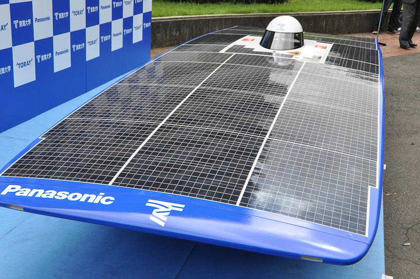 太陽電池はパナソニック製のHIT太陽電池を使用