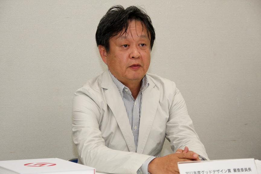 2011年度グッドデザイン賞審査委員長 深澤直人氏