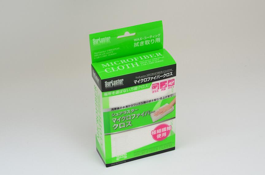 拭き取り用としてWAX用の万能クロス「マイクロファイバークロス」も同時購入した