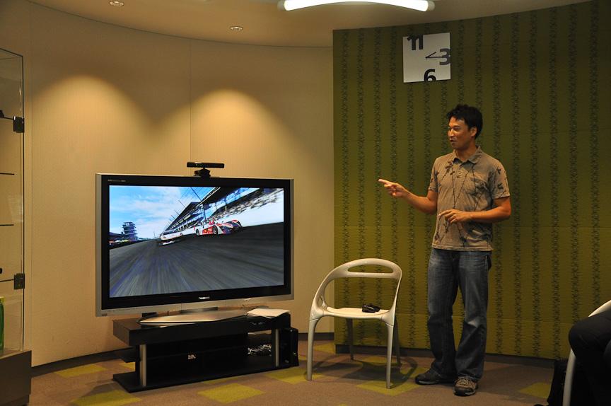 谷口氏は、Forza 4の進化点を語ってくれた