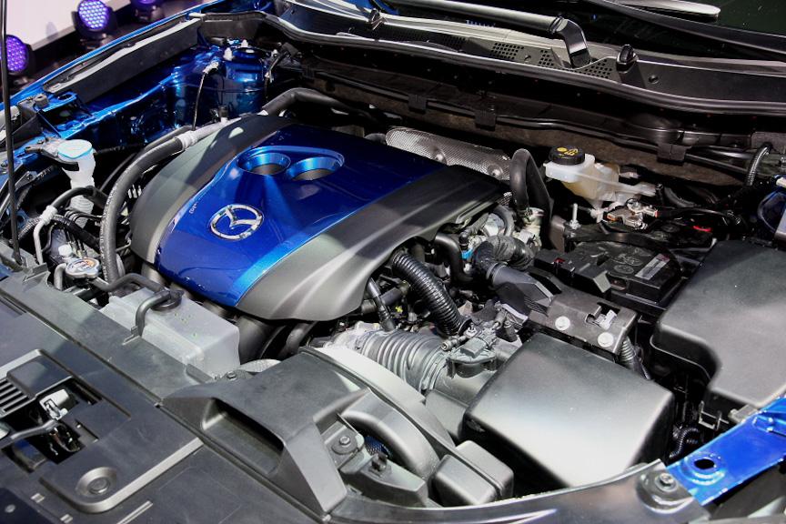 エンジンはディーゼルのスカイアクティブDとガソリンのスカイアクティブGを採用する