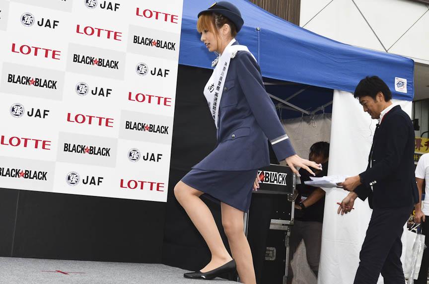 南明奈さん、福見友子選手、永里亜紗乃選手が登場