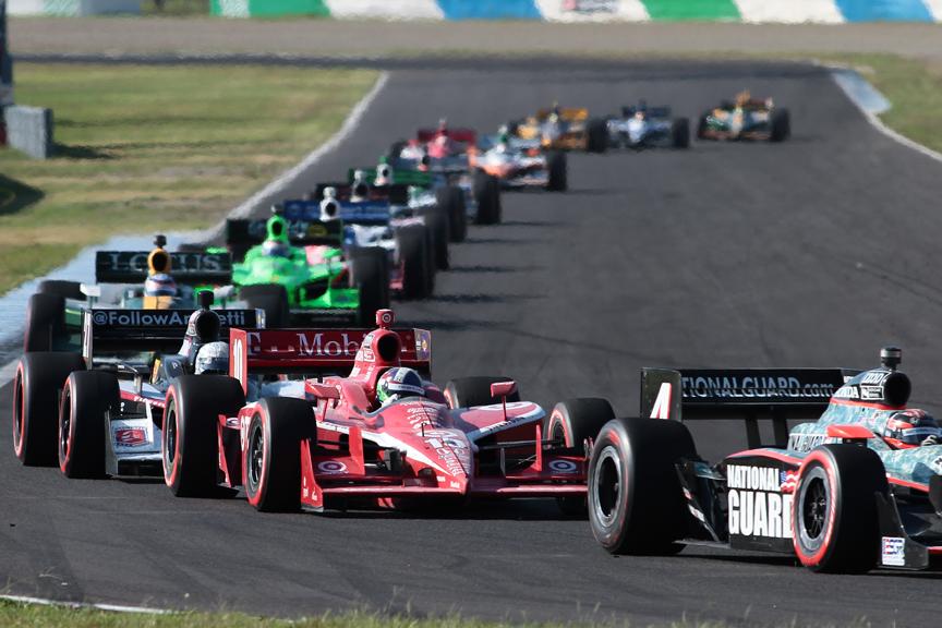 予選では10番手に沈んでしまったターゲット・チップ・ガナッシ・レーシングのダリオ・フランキッティ。このレース前までのポイントリーダーだが、5点差で2位に迫るウィル・パワーが予選2位につけたことで一転して苦しい立場に