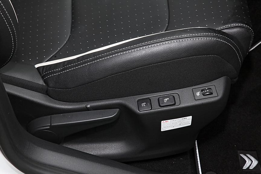 スポーツシックではアクティブランバーサポートに加えシートヒーターも標準装備