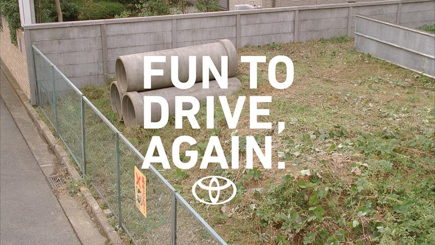 FUN TO DRIVE, AGAIN.