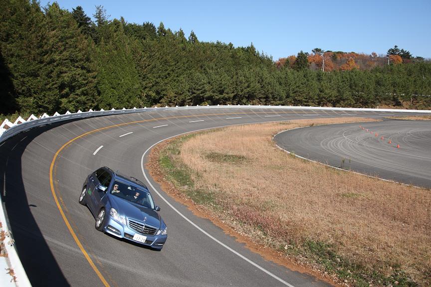 「クリーンディーゼル実車体験試乗会」が開催されたボッシュ塩原試験場