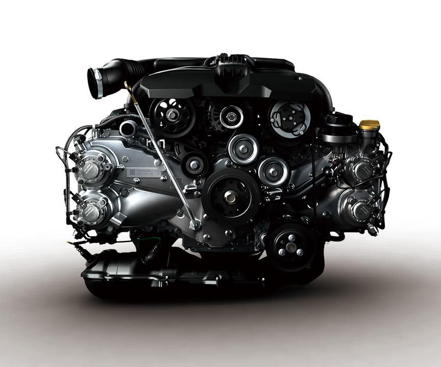 FB型ボクサーエンジンを採用