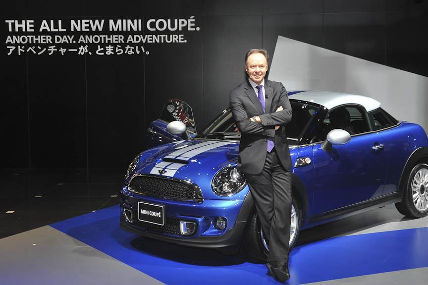 BMWグループのイアン・ロバートソン上級副社長