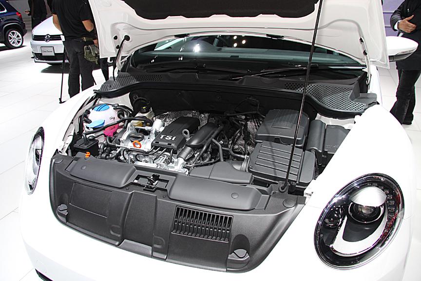 パワートレーンは1.2LのTSIエンジン+7速DSG