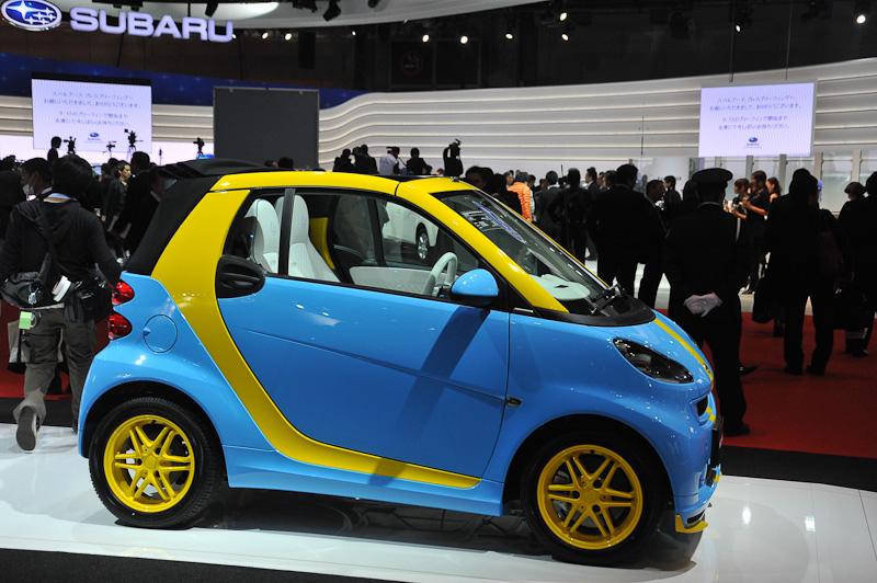 来年、日本に導入されるスマートの特別仕様車「テイラーメイド」