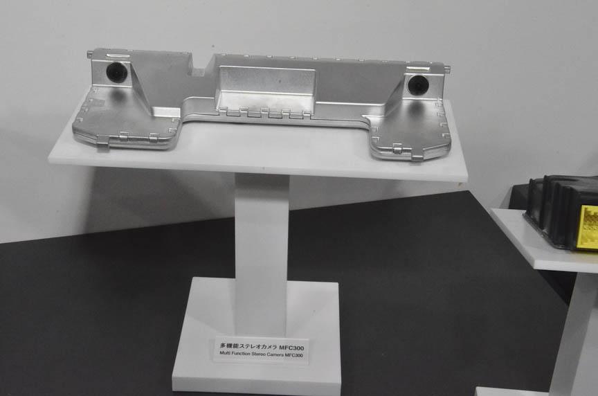 独コンチネンタルが自動ブレーキ用センサーとして開発したステレオカメラ