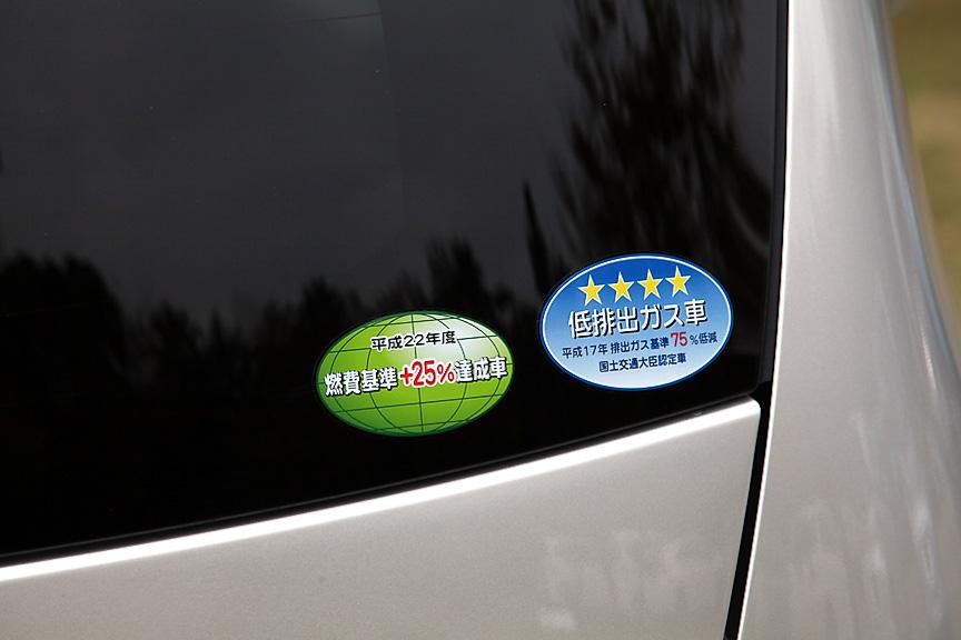 燃費基準、排出ガスのラベリングもハイレベルでエコカー減税の対象となる
