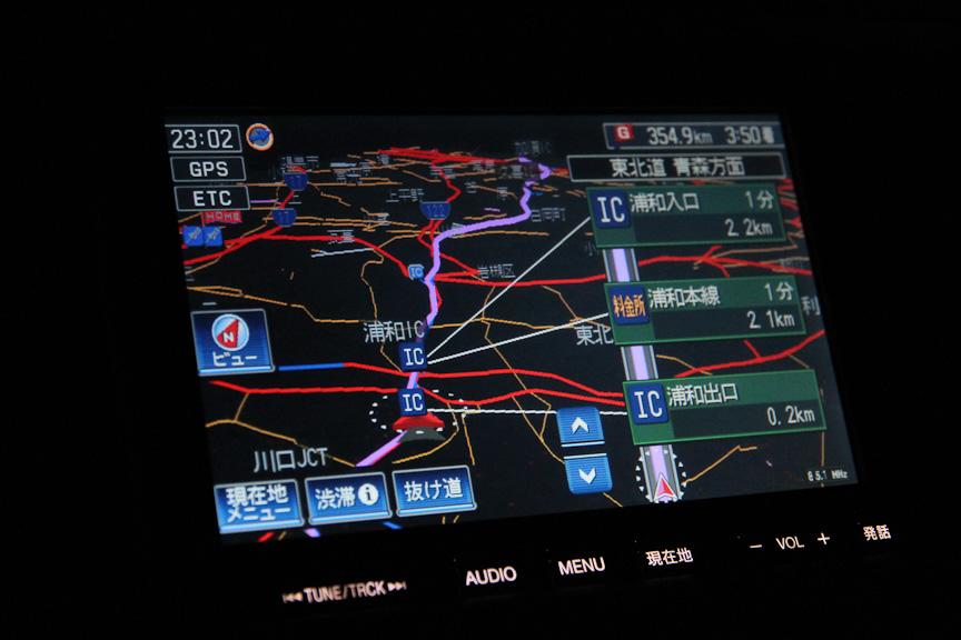 首都高速から、東北自動車道を目指した