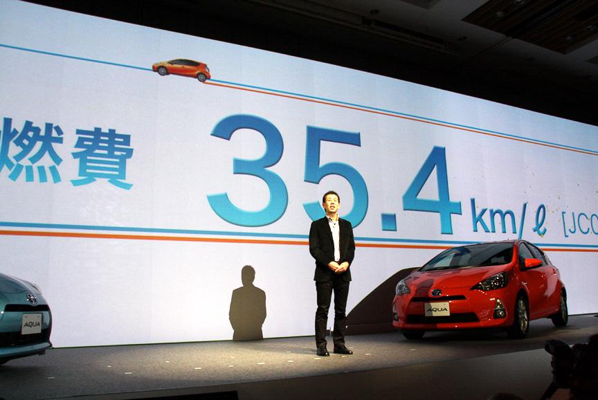 燃費はJC08モードで35.4km/Lを達成