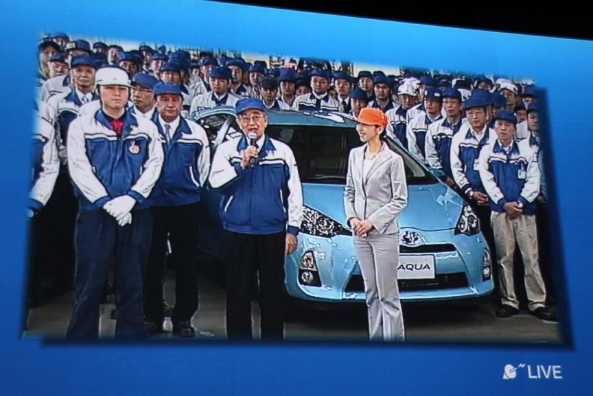 関東自動車工業 取締役社長 服部哲夫氏によるスピーチも行われた