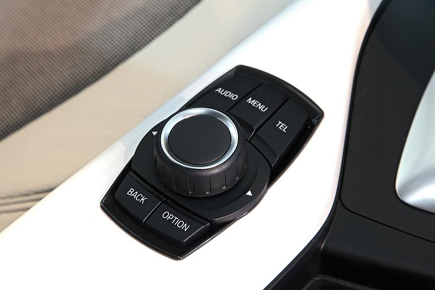 シンプルな作りのiDriveコントローラー