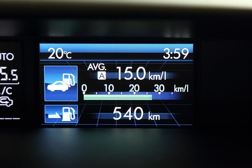 平均燃費と航続可能距離