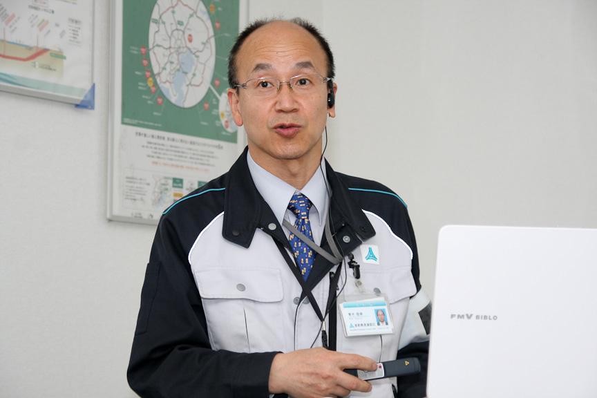首都高速道路 東京建設局 品川線工事事務所 所長 青木敬幸氏