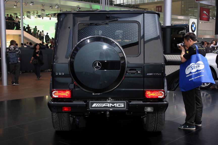 ワールドプレミアされた「G63 AMG」
