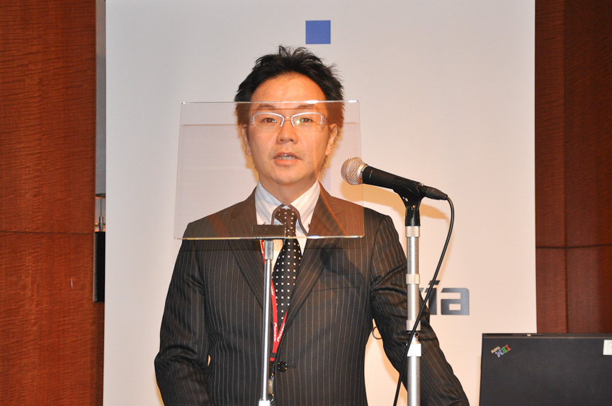カー事業戦略部 スマートビジョン事業開発室の橋田雅也氏