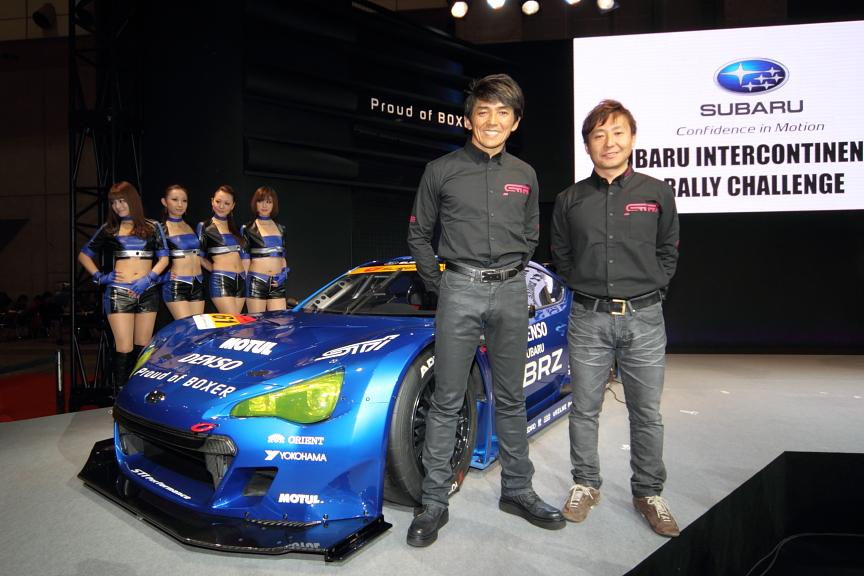 参戦の正式発表とドライバーの発表は東京オートサロン2012