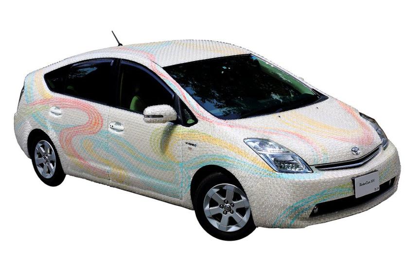トヨタ自動車のプリウスをベース車両とした「RoboCar HV」
