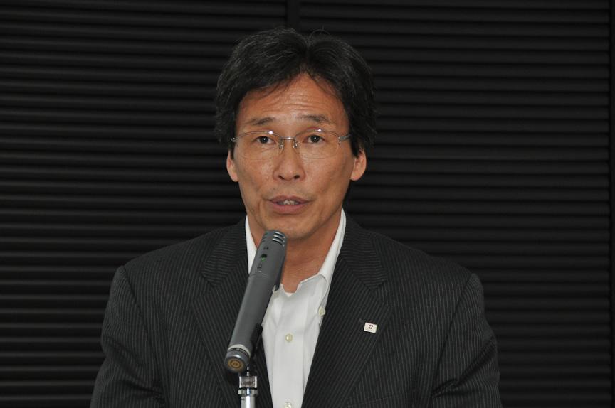 取締役 常務執行役員 製品開発管掌 森本芳之氏