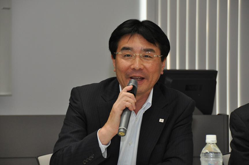 執行役員 タイヤ基礎開発担当 濱田達郎氏