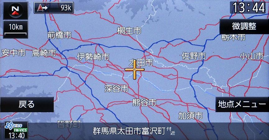 地図を含めデータはSDカードに。羽田空港の国際線ターミナルや北関東道が収録されるなど、わりと新しいデータが用意されている