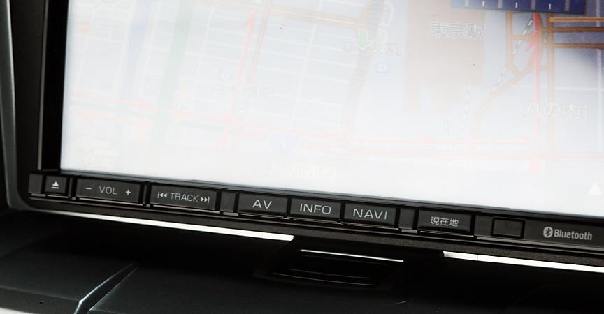 画面下中央部の専用キーでそれぞれのメニューが呼び出せるのは、とても分かりやすい