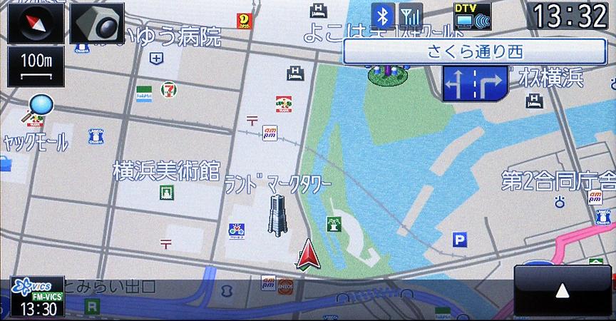 地図からは全部で4パターンが用意されており好みのセッティングが可能だ