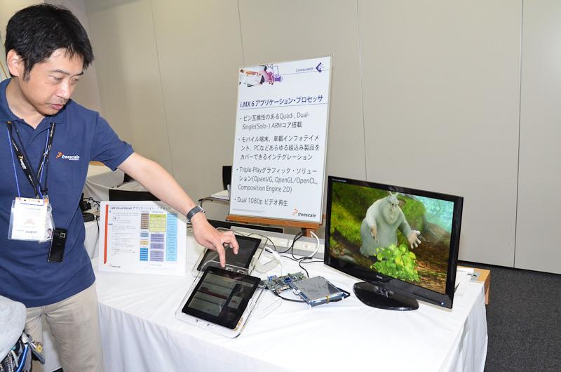 ワンメイク・フェスティバルではフリースケールとパートナー各社の技術を紹介するテクノロジーラボやセミナーが開催された