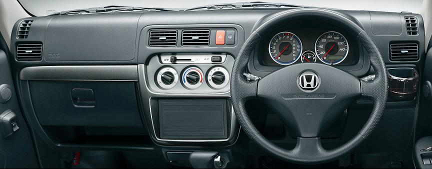 バモス G(4WD/4速AT)インパネ