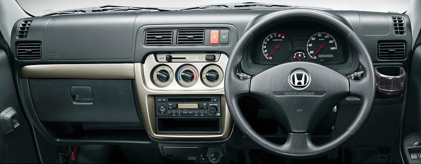 バモス ホビオ Pro(2WD/5速MT)インパネ