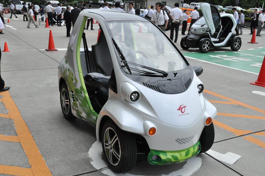 トヨタ車体「COMS Concept」