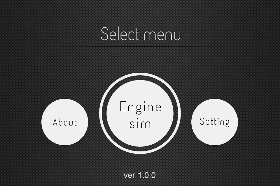 Slect menu