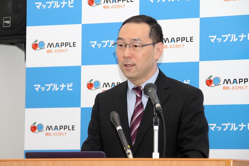 キャンバスマップル 代表取締役社長の山本幸裕氏