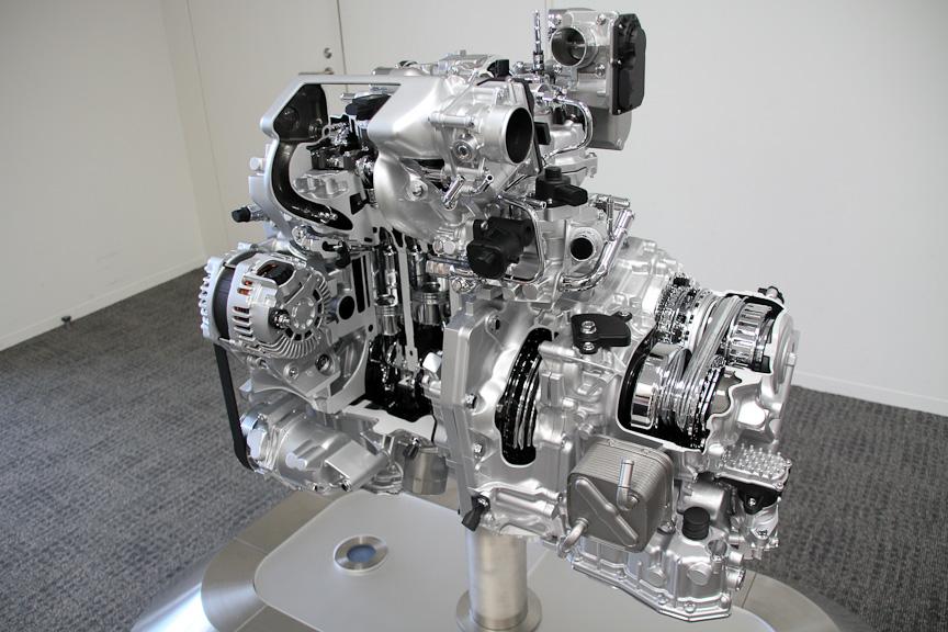 直列3気筒1.2リッター+スーパーチャージャーの新型「HR12DDR」エンジン