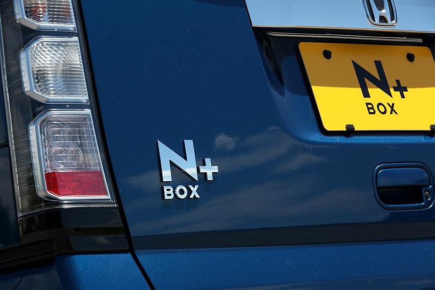 車名のバッヂはNの横に小さな「+」が付く