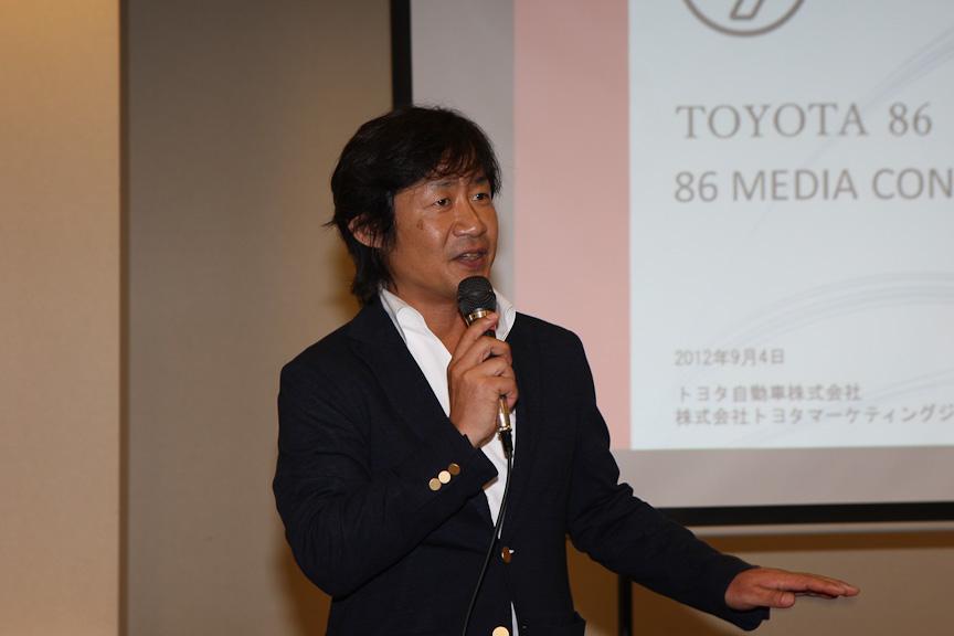 トヨタマーケティングジャパン スポーツカーカルチャー推進グループ マーケティングディレクターの喜馬克治氏