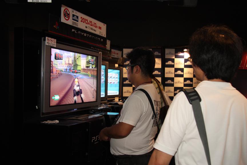 国内でF1 RACE STARSを体験プレイできるのは今回が初めて