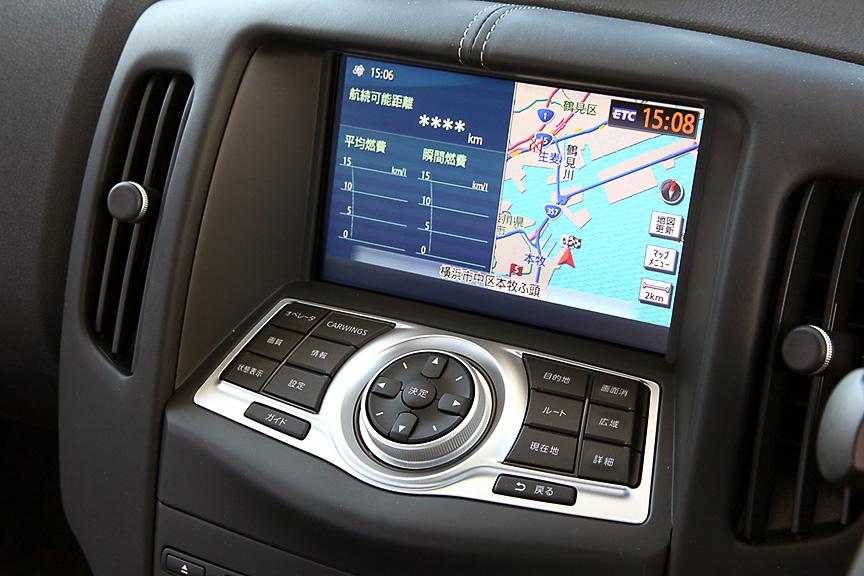 カーウイングスナビゲーションシステムは全車にオプション設定