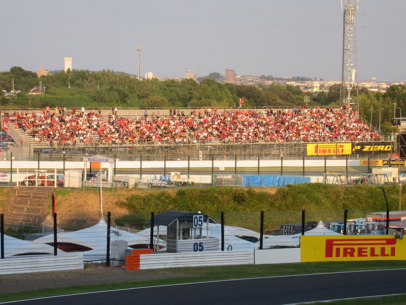 レース後のA2席