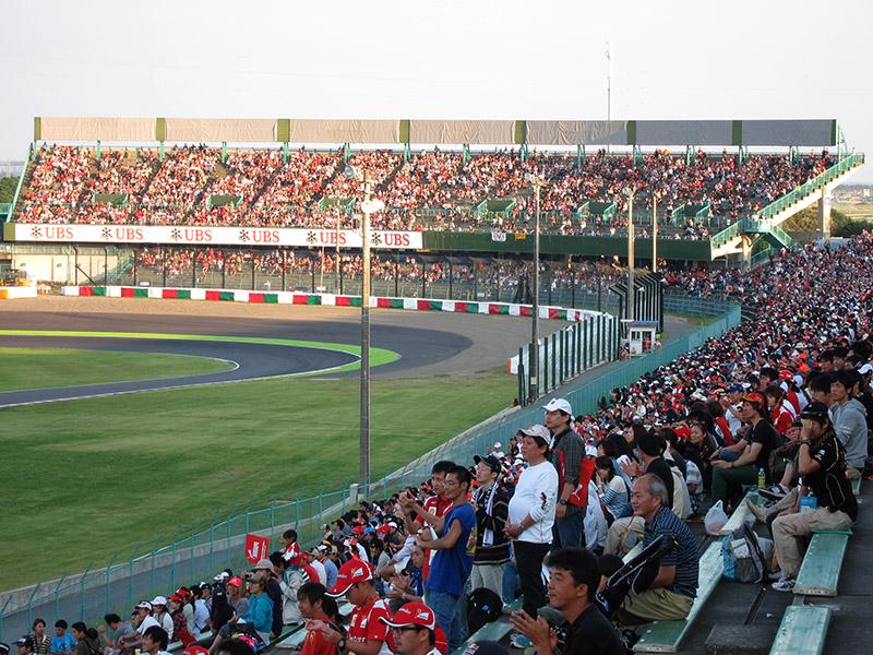 レース後のB席とC席