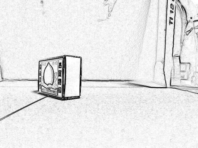 Photo18:輪郭抽出で外形を明確にする(右)