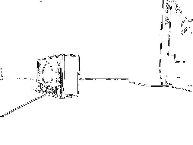Photo20:細線化で余分な情報を取り除く(右)