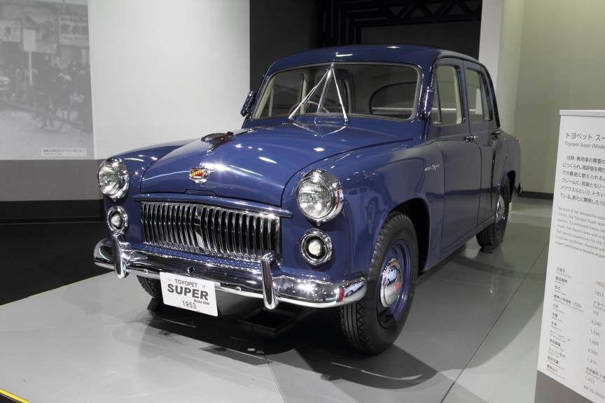 1953年 トヨペットスーパー(RHN型)